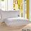 Thumbnail: White pillow 100% cotton pillows for neck health 48 * 74 cm