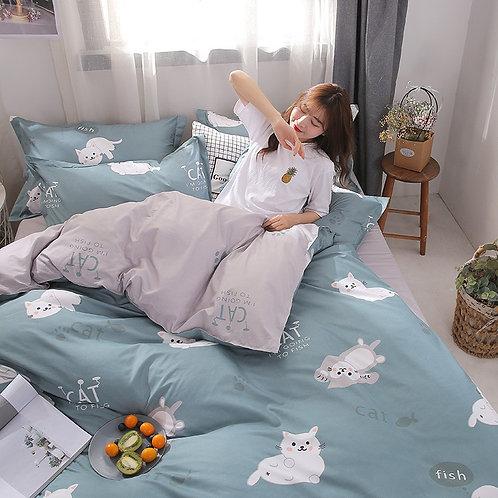 Printed bedding sets