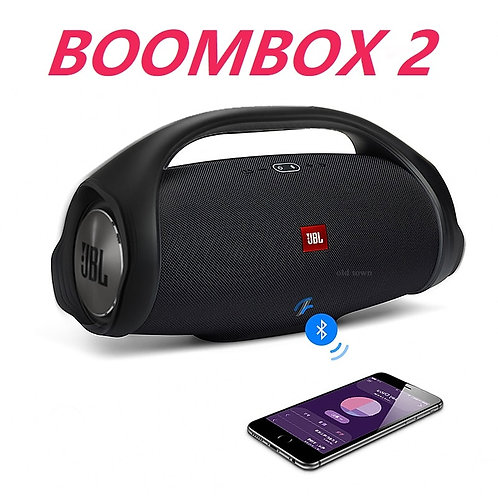 Boombox 2 Portable Wireless Bluetooth Speaker Waterproof