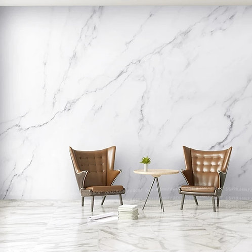 Nordic Ins Plain Wallpaper Marble Wallpaper