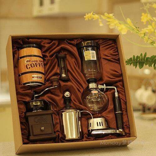 Gift manual coffee machine
