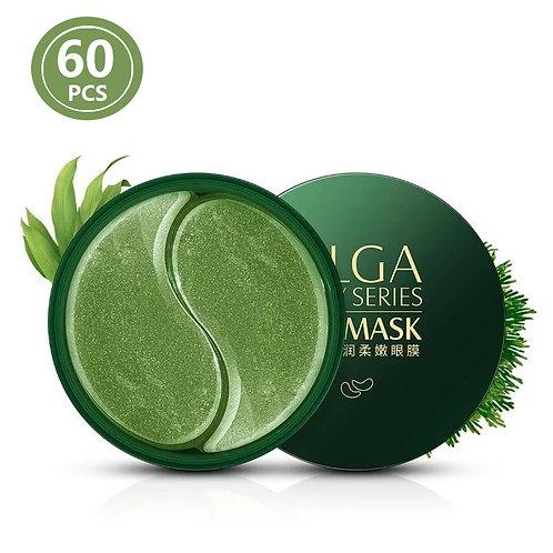 Collagen Gold / Algae Mask, Natural Moisturizing Gel, Eye Patches, 60 pcs.