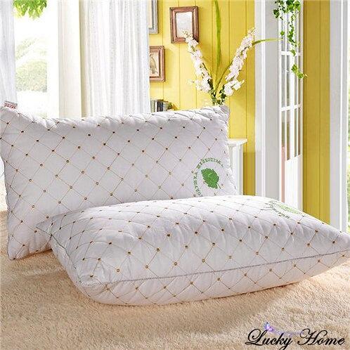 White pillow 100% cotton pillows for neck health 48 * 74 cm