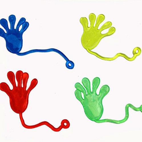 10Pcs Elastically Stretchable Sticky Palm Climbing Tricky Hands Toys