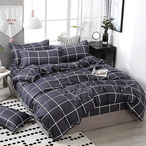 3/4 pcs. / Set, Geometric Cotton Comforter, Bedding Set