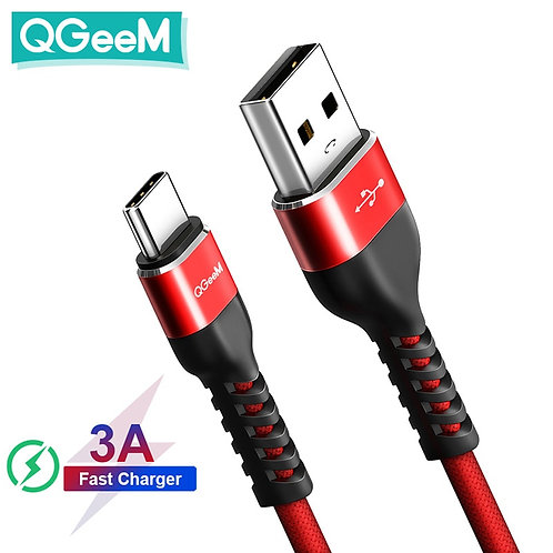 USB Type C Cable USB-C Charger Cable for Samsung Galaxy S9 Huawei Mate 20 Xiaomi