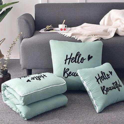 2 in 1 pillow, car sofa, waist pillow
