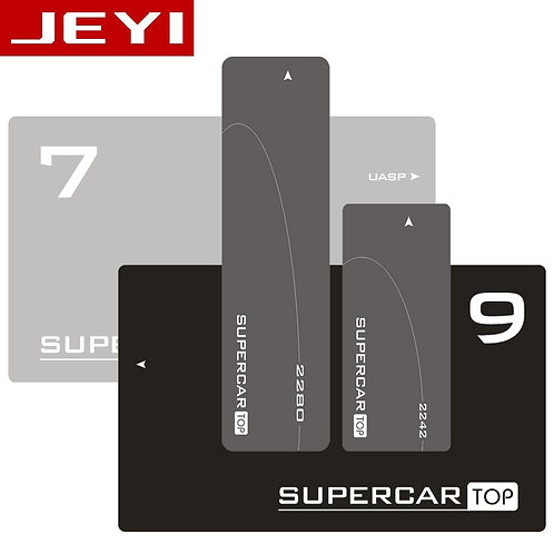 Jeyi Supercar M.2 NVME Aluminum Typec3.1 Mobile SSD Box Optibay SSD Case