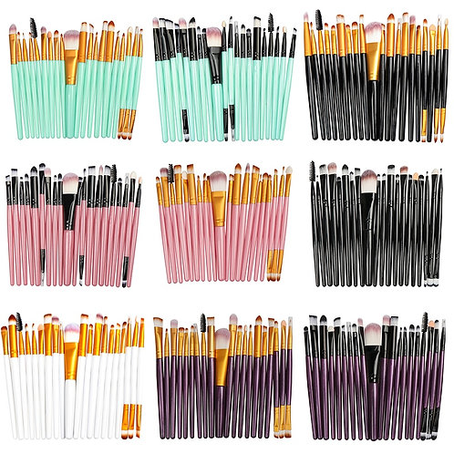 La Milee Makeup Brush Set, 20/5 pcs.