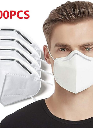 100 pieces. Masks 6 layers 99% filter mask dustproof protective masks