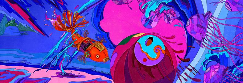 Underwater Magic World
