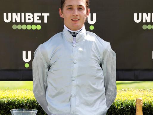 Chetwood sponsor Harry Bentley, leading international jockey