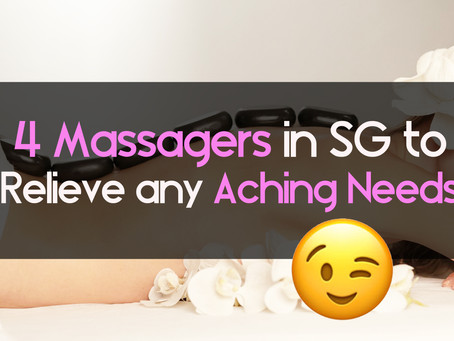 4 Special Handheld Massagers in Singapore you can get to Relieve any Aching Needs