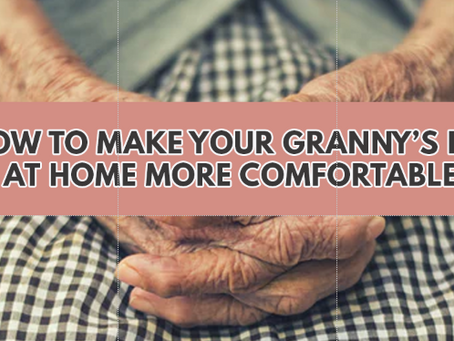 5 tips on Making Home a safer place for your Aged Granny - Where you can get Subsidies and the Best