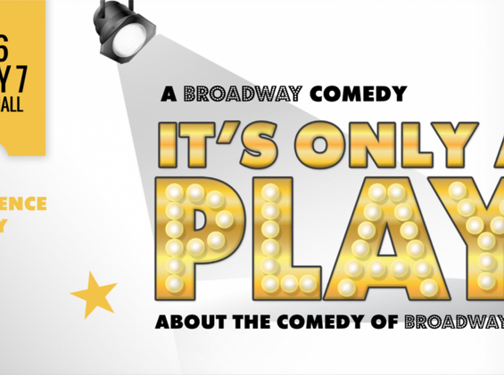 It's Only A Play Logo