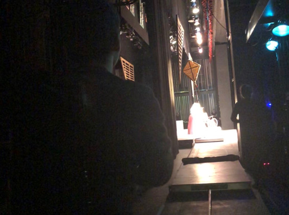 Flying the Kite from Backstage
