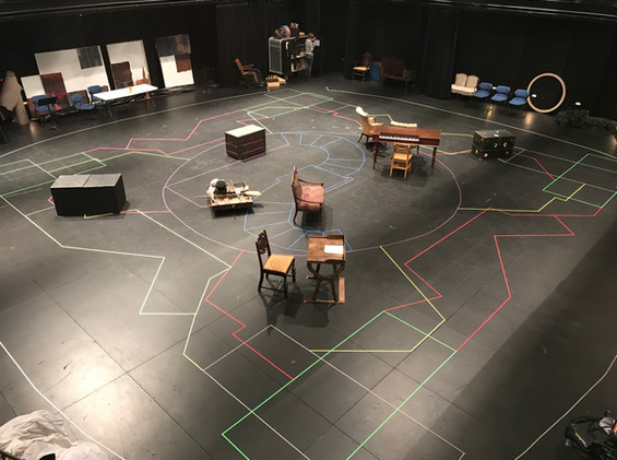Rehearsal Room Layout