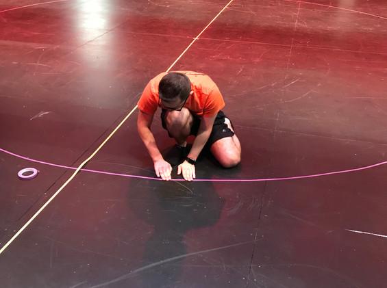 Floor Taping
