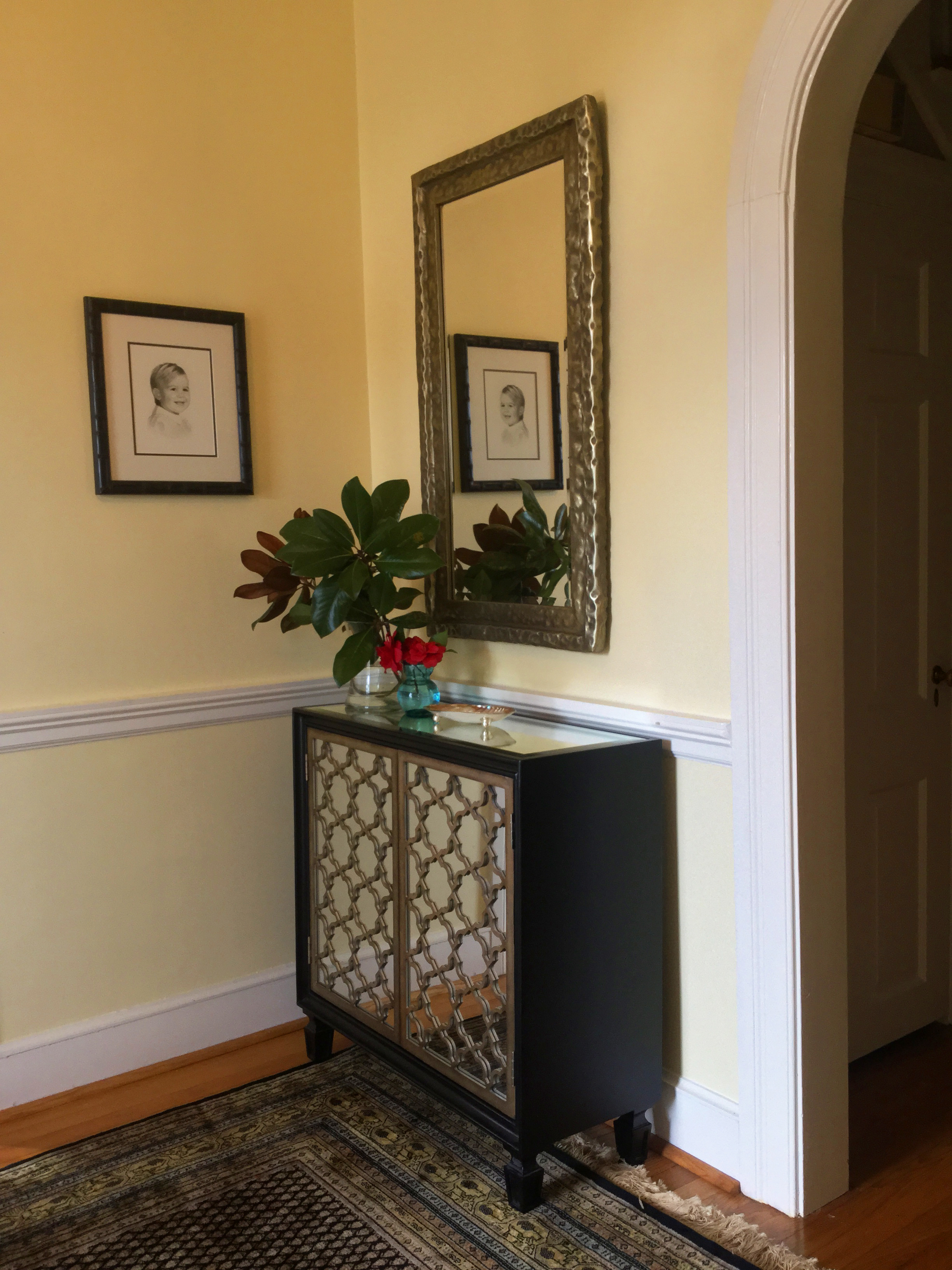 Foyer design and furnishings install