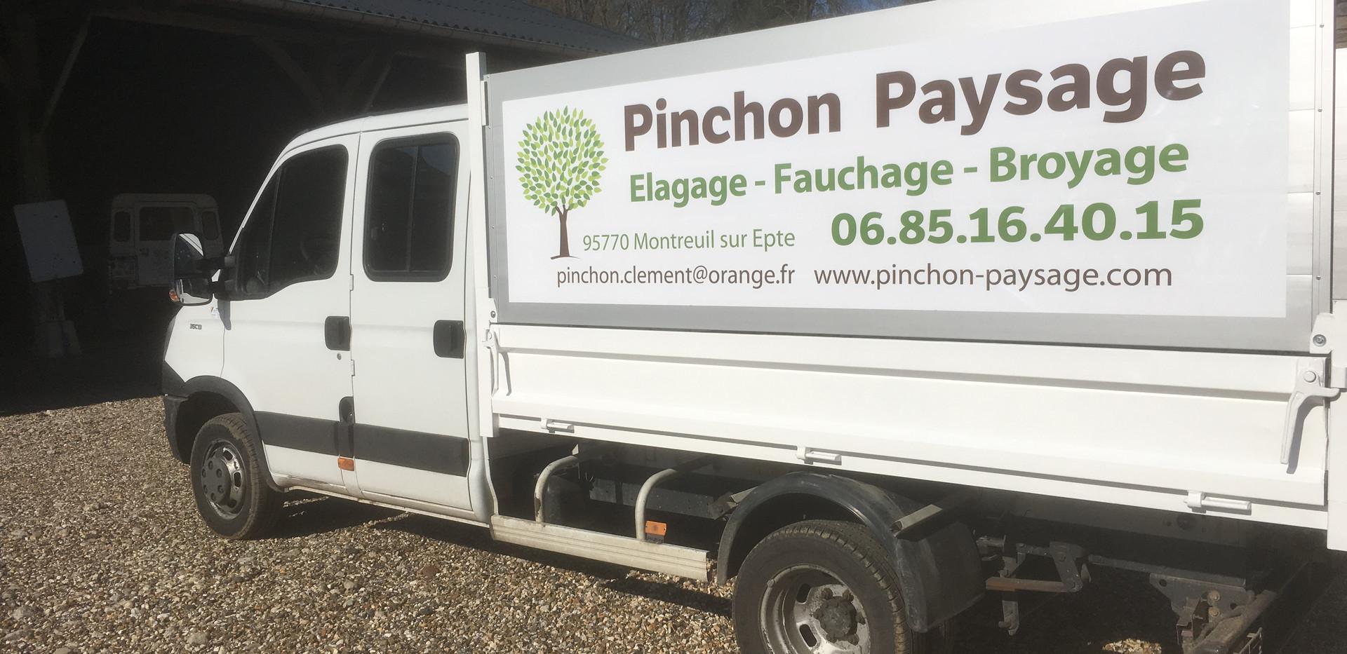 Camion Pinchon Paysage.