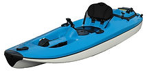 Aquanami Jetkayak - jet powered  kayaks,fast - 25 mph/40 kmh, nimble, with 9,5PS, four stroke, electric start, low noise engine, fuel consumption only 3L/h