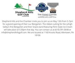 Shepherd Hills and the Chamber invite yo