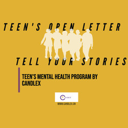 A Letter to Teens: Tell Your Stories   Teens Mental Health