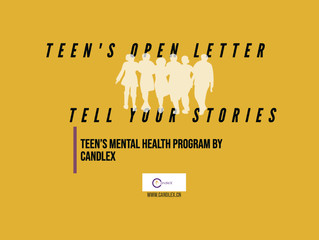 A Letter to Teens: Tell Your Stories | Teens Mental Health