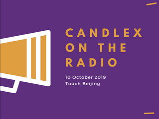 CandleX appears on Touch Beijing | 10 October 2019