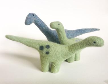 Needle Felted Dinosaur