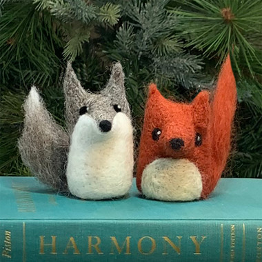 Needle Felted Fox or Wolf