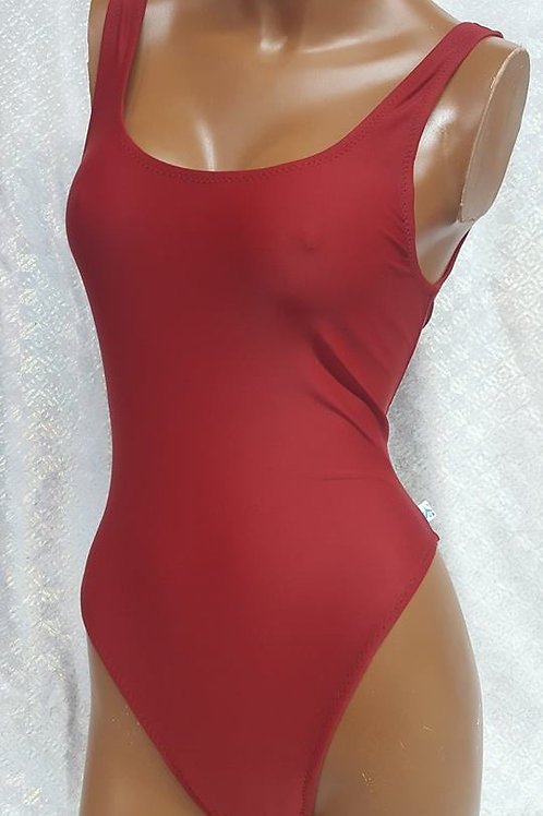 Brick Red Bodysuit