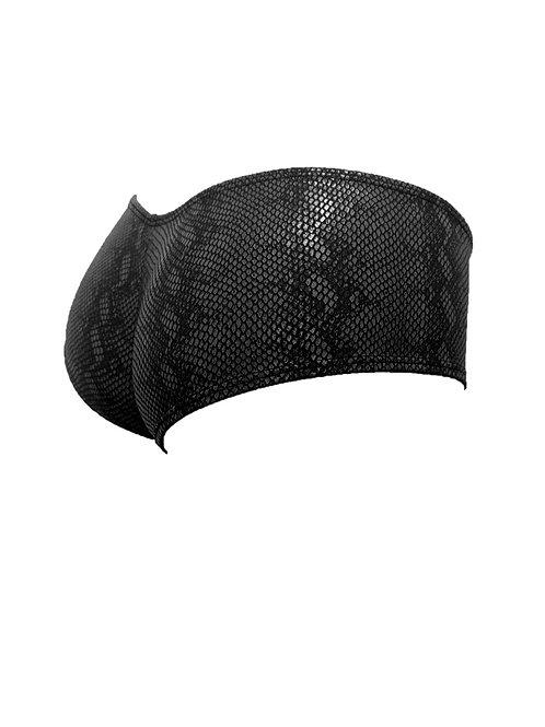 Freestyle Cheeky Shorts - Black Snake