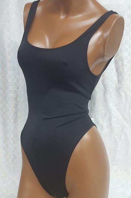 Basic Black Bodysuit