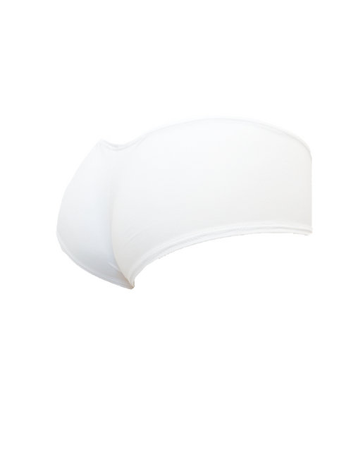 Freestyle Cheeky Shorts - White