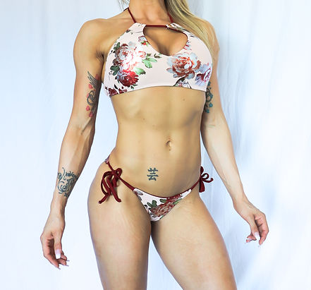Divine Floral Multi-Way Bikini