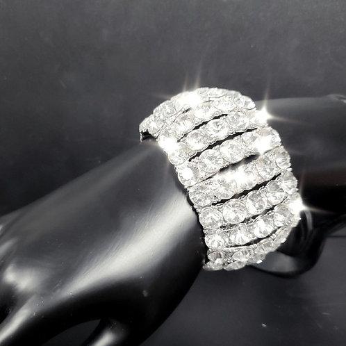 Large Dome Stretch Bracelet