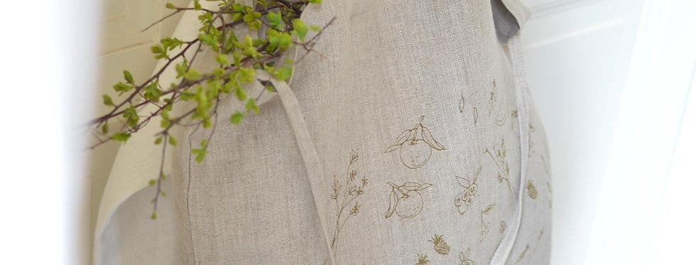 Herbes - Tote bag lin