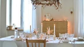 Déco de table pour les fêtes