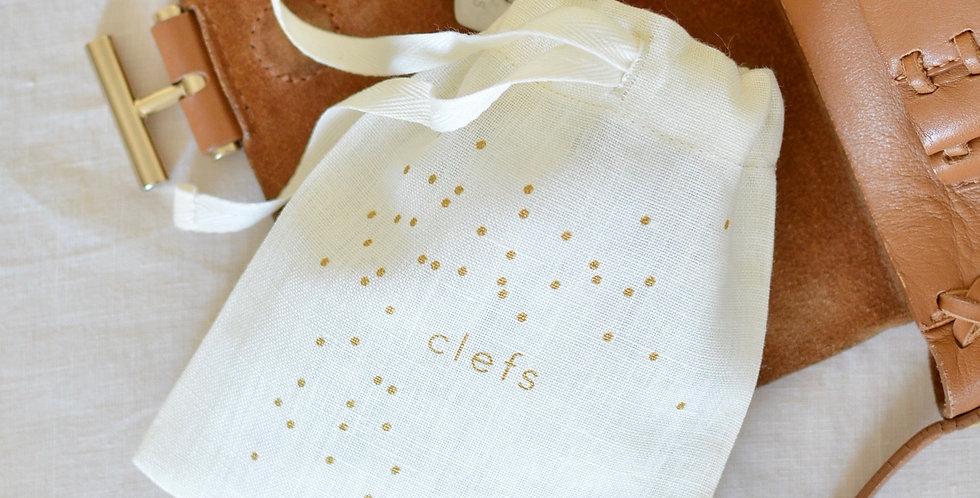 Clefs - lin ou coton