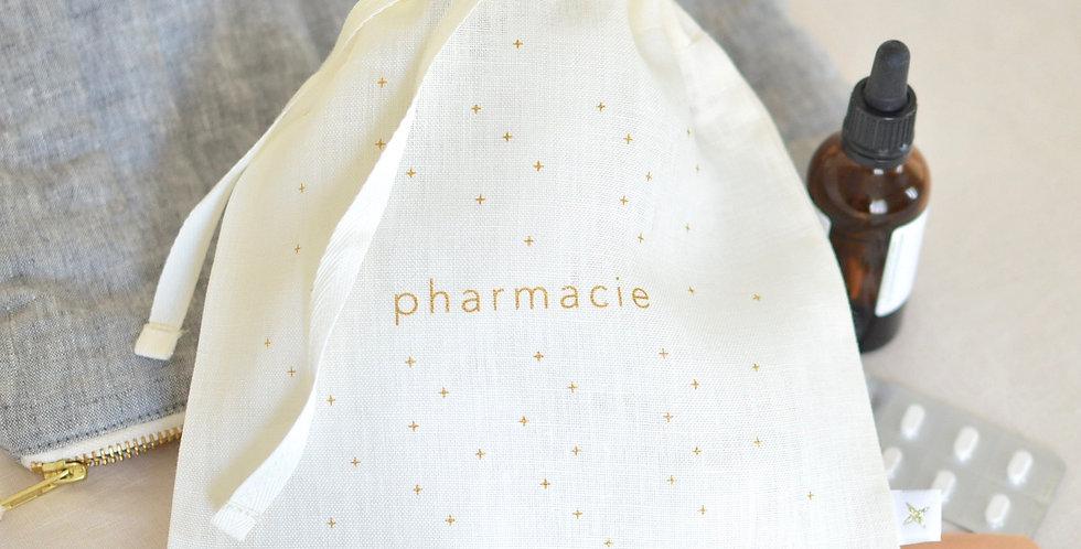 Pharmacie - lin ou coton