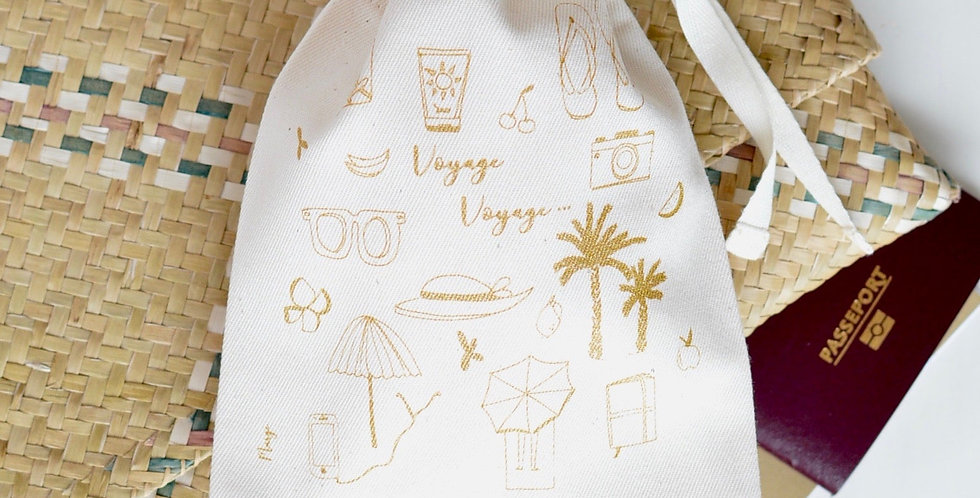 Voyage 🌎 Collab Marge illustration - coton