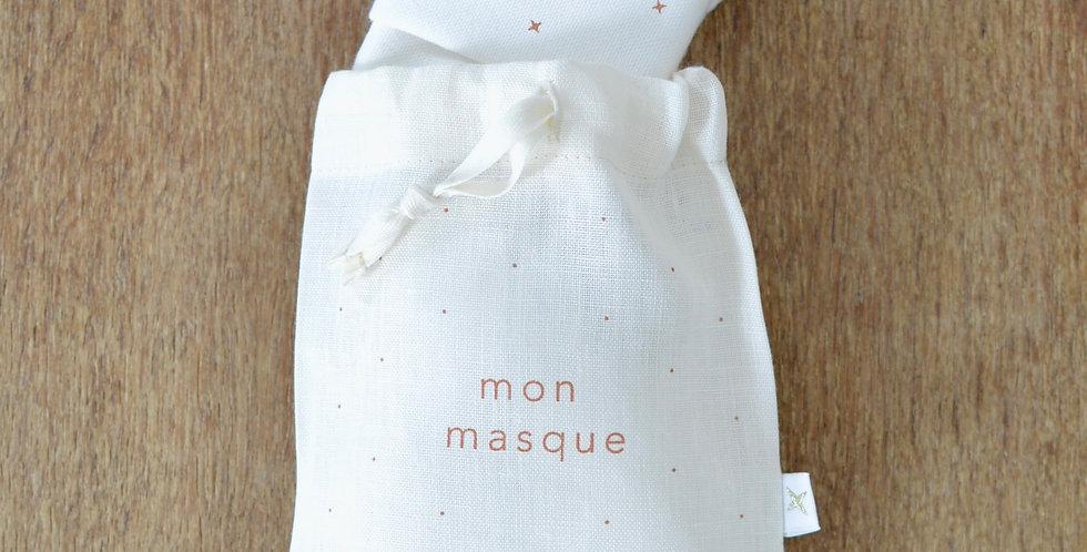 Pochette pour masque