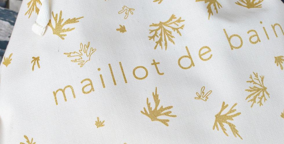 Maillot de bain - lin ou coton