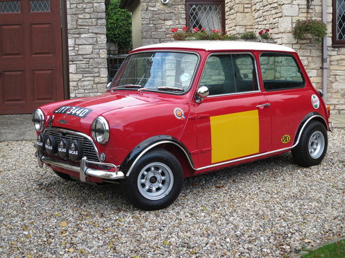 1966 D Austin Cooper S Re Creation 33000 Miles