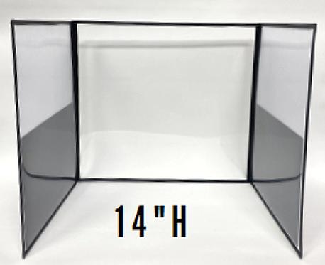 """DeskShields - 14""""H"""