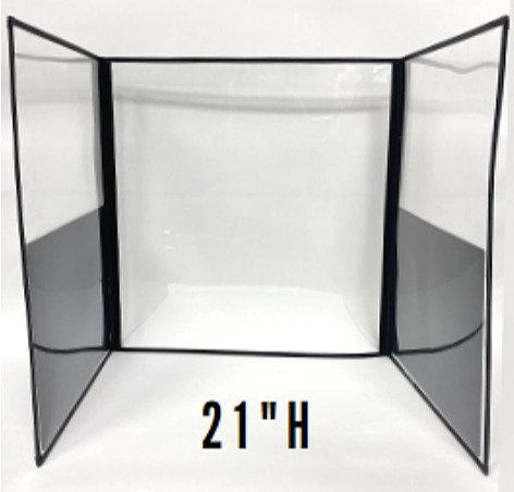 """DeskShields- 21""""H"""