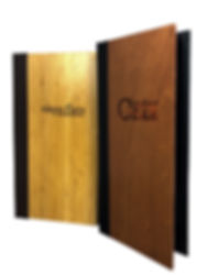 Wood & Bamboo Menus