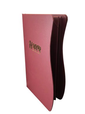 Linen Menu Covers by Menu Designs