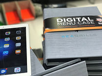 Digital Menu Cases with D3O